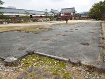 Ruins at Hiroshima Castle, Hiroshima, Japan Royalty Free Stock Photography