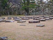 Ruins at Hiroshima Castle, Hiroshima, Japan Royalty Free Stock Photo