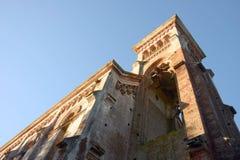 Ruins of a historic church in Piriapolis city, Uruguay Royalty Free Stock Image