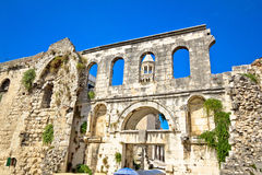 Ruins of historic city of Split Royalty Free Stock Image