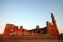 Ruins of historic Madrasa in India Stock Photography