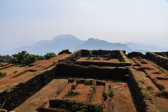 Ruins of Historical Fort Royalty Free Stock Images
