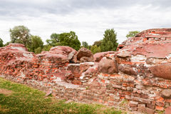 Ruins of  historical fortress. Ruins of  historical fortress in summer Stock Images
