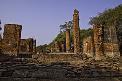 The ruins of holy old temple Royalty Free Stock Images