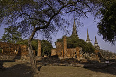 The ruins of holy old temple Stock Photography