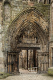 Ruins of Holyrood Abbey, Edinburgh Royalty Free Stock Images