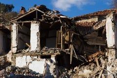 Ruins of home Stock Photos