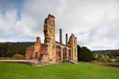 Ruins of hospital in port arthur historic jail Stock Photos