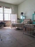 Ruins of Hospital Room. Abandoned Hospital Room at Alcatraz Prison, San Francisco royalty free stock images