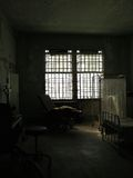 Ruins of Hospital Room Stock Image