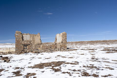 Ruins of a house Royalty Free Stock Photos