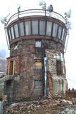 Ruins of house. Old rotunda in Chopok, Low Tatras royalty free stock images