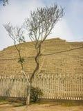 Ruins of Huaca Pucllana Stock Image