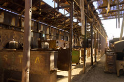 Ruins of Humberstone, Chile Stock Photography