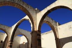 Ruins of the Iglesia Conventual de San Buenaventura church, Fuer Stock Photography