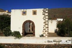 Ruins of the Iglesia Conventual de San Buenaventura church, Fuer Royalty Free Stock Photo