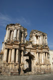Ruins of the Iglesia de El Carmen church. Destroyed by an earthquake, Antigua, Guatemala stock images