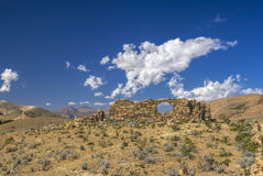 Ruins on Ilsa del Sol Royalty Free Stock Images