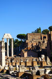 Ruins inRoma. Ruin of fortress in Roma Royalty Free Stock Images