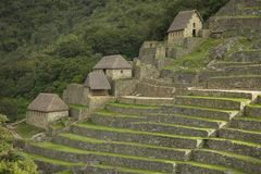 Ruins inside Machu Picchu Royalty Free Stock Photos