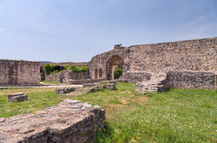 Ruins of Ioannina castle, Epirus, Greece Stock Image