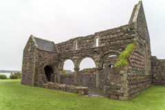 Ruins Iona Nunnery Royalty Free Stock Photos