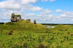 Ruins, Ireland. Ancient ruins in Ireland. Landscape Stock Photos