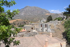 The ruins on the island of Crete. Stock Photography