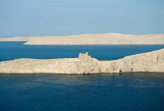 Ruins on island pag Royalty Free Stock Photography