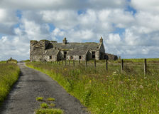 Ruins on Islay. Royalty Free Stock Image