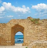 Ruins at Israel Royalty Free Stock Photo