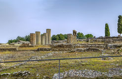 Ruins in Italica, Spain Royalty Free Stock Photography