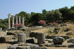 Ruins in Italy Royalty Free Stock Photos