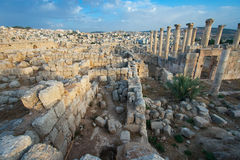 Ruins of Jerash Royalty Free Stock Photography