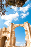 Ruins of Jerash Stock Image