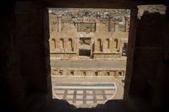 Ruins Jerash in Jordan Stock Photography