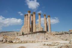 Ruins Jerash in Jordan Royalty Free Stock Image