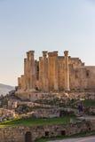 Ruins of Jerash Roman City in Jordan Stock Photo