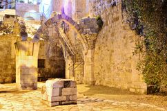 Ruins of Jerusalem Royalty Free Stock Images