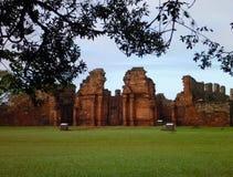 Ruins of jesuit missions san ignacio mini in misiones in argentina Royalty Free Stock Images