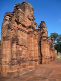Ruins of jesuit missions san ignacio mini in misiones in argentina Royalty Free Stock Photography