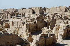 The Ruins of Jiaohe Ancient City Royalty Free Stock Images