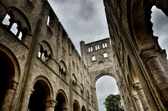 Ruins of Jumieges Abbey, France Stock Image