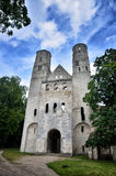 Ruins of Jumieges Abbey, France Royalty Free Stock Photos
