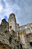 Ruins of Jumieges Abbey, France Stock Photos