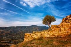 Ruins of Jvari Monastery in Mtskheta, Georgia Stock Photography