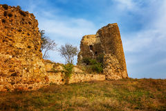 Ruins of Jvari Monastery in Mtskheta, Georgia Royalty Free Stock Image