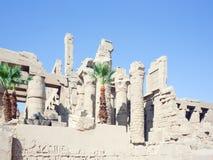 Ruins of Karnak Royalty Free Stock Photography
