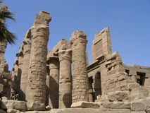 Ruins of Karnak Stock Images