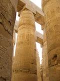 Ruins of Karnak template Luxor Egypt. Huge columned hall of Karnak template Luxor Egypt royalty free stock image